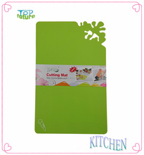 4PC Food and vegetable plastic cutting board Cutting Mat