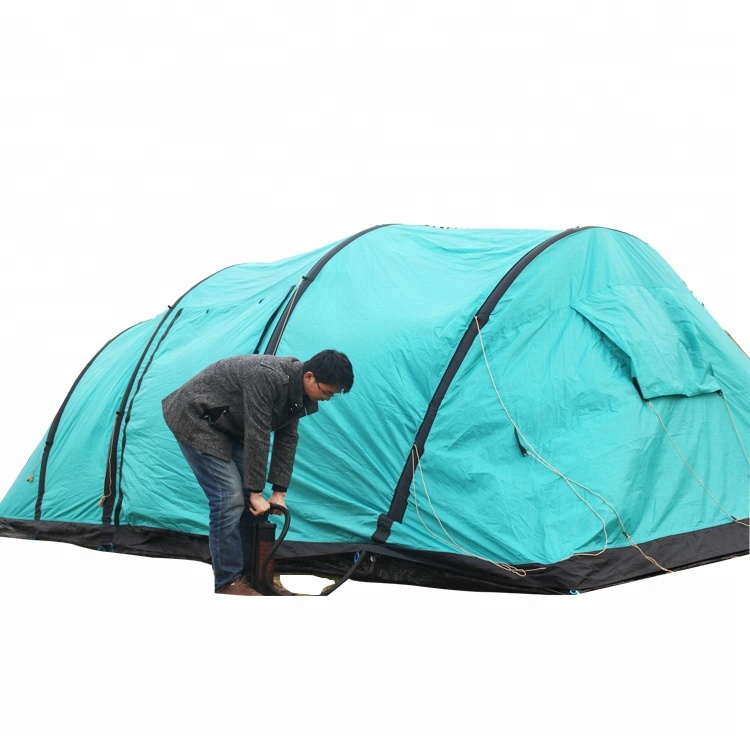waterproof 8-10 man big family outdoor AIR camping PU tube <strong>tent</strong>