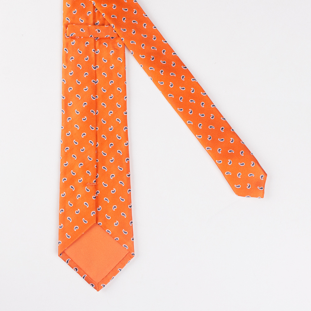 China Latest Fashion Custom Made Woven Jacquard Silk Neck Tie for Men