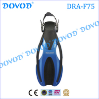 PP+TPR Material and junior Age Short Diving Fins Swim Fins