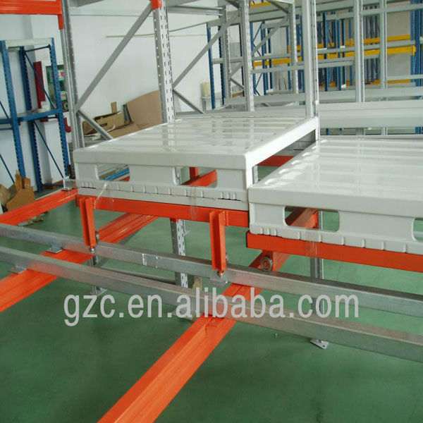 2013 new style push back pallet racking systems