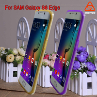 For Samsung Galaxy S6 Edge ultra mobile phone case PC+TPU mobile cover new product 2016 mobile accessories