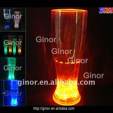 24oz led flashing glass/cup