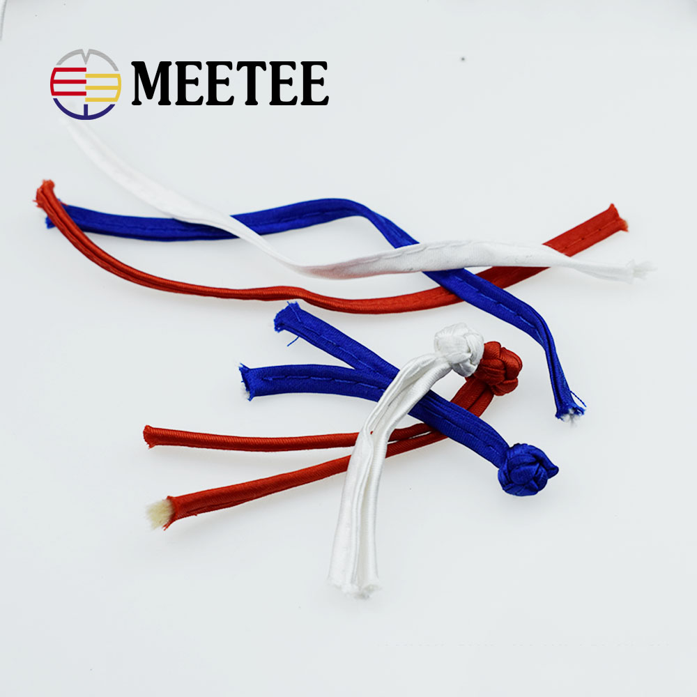 140mm Multicolor strip closure knot button for cheongsam and traditional Chinese garments