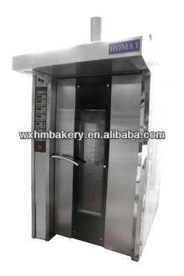 32 trays hot air rotary furnace bread oven