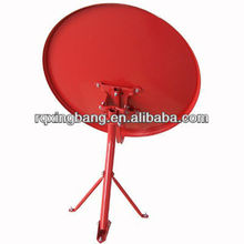 Ku Band Triangle Ground Mount Dish Antenna
