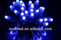 led dmx pixel,led pixel dot,full color;50pcs a string;256 gray scale,epoxy resin filled