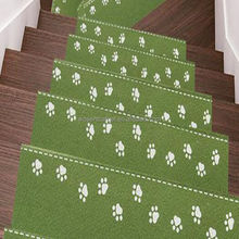 green coffee anti-slip Self-adhesive cartoon style luminous kids stair treads floor mat