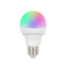 2.4G wireless high frequency 6w smart led bulb rgbw with easy installation