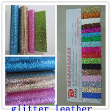 China shining synthetic leather fabric eco leather material genuine leather rolls