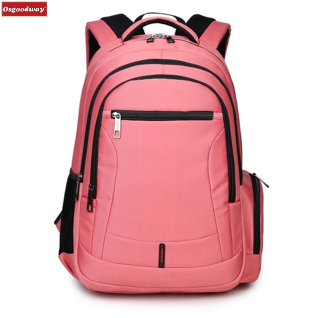 dbcedaa669e8 Osgoodway Girls School Backpack Women Travel Bags Bookbag Kids Back pack  Children Bags for Teenagers Pink Laptop Bag