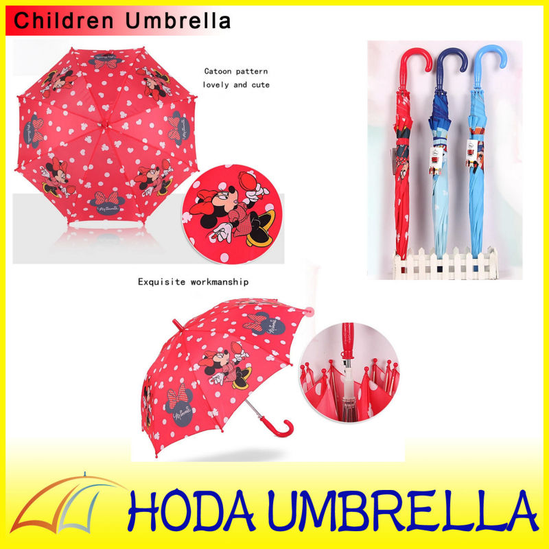 19''*8k Disney cartoon children umbrella in high quality made in China