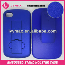 mobile phone accessories for blackberry Q10 belt clip cover