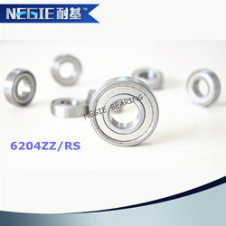 China supplier Cixi Negie factory made high speed performance 6204 bearing motorcycle