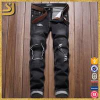 Odm Quality Assurance 100 Cotton Multi Colored Blend Stretchable Denim Jeans