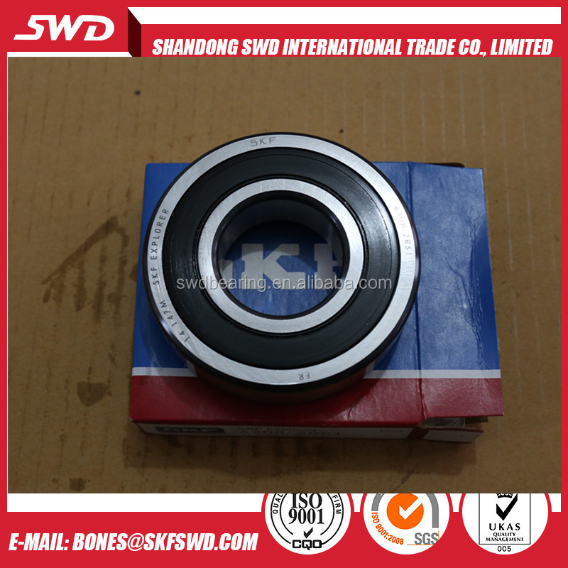 Original SKF high temperature bearing 6206 skf v groove bearing