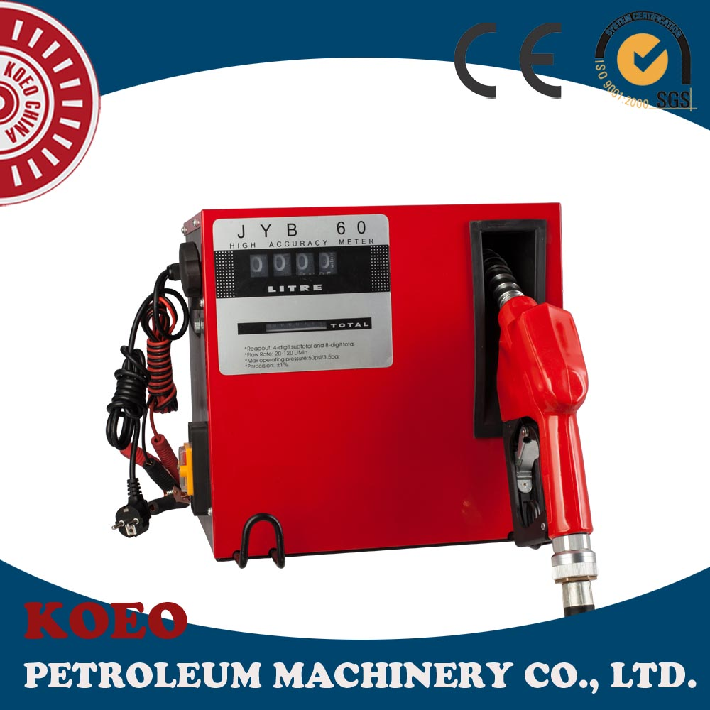 60lpm Mechanical Small Mobile Fuel Dispenser for Diesel Fuel
