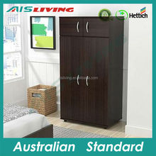 AIS_W100 high quality bedroom wardrobe with small designs wood door bedroom closet