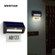 VERTAK Lighting 12 Hours Super Bright Wall Mounted High Quality Solar Main Gate Lamp