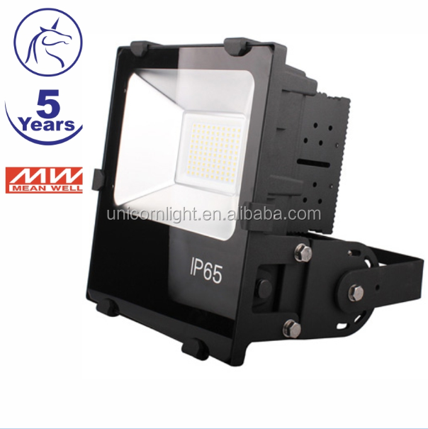 7years warranty with meanwell driver ip65 waterproof high brightness project quality 100w 150w led flood light