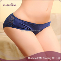 Hot Sexy Woman Underwear Bowknot Lace Briefs Underpants
