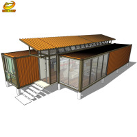 Expandable Shipping Container House