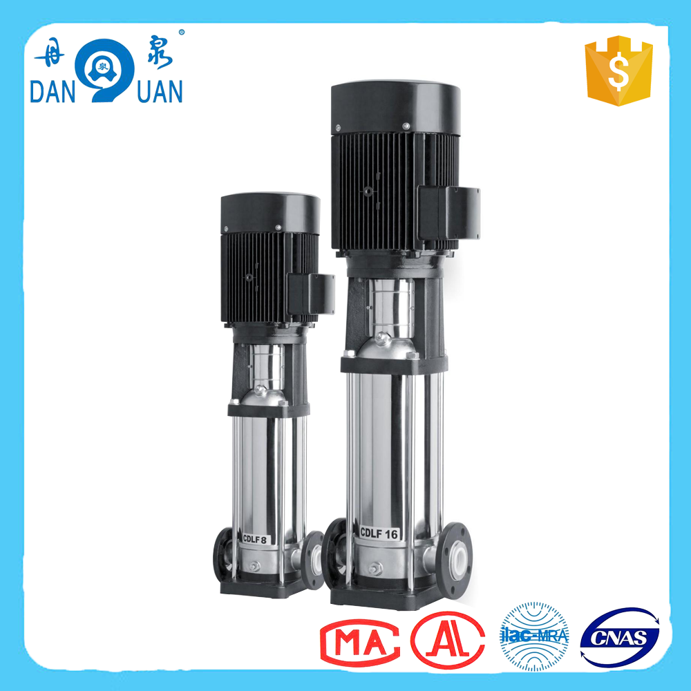 Professional vertical inline multistage centrifugal pump with certificate
