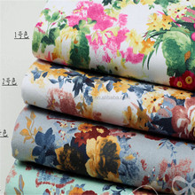 Wholesale Custom printed Polyester cotton fabric for bed sheets in roll