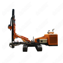 New fashionable crawler mounted type DTH hydraulic grouting hole drilling rig