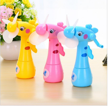 cute portable Mini Fan of high quality beauty handheld ventilador portable mini handheld fan spray water