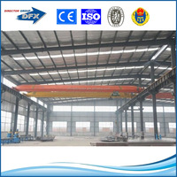 ISO certified prefabricated temporary warehouse building plans