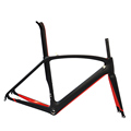Dengfu 700c custom paint internal cable routing road racing bike carbon fiber frame bicycle