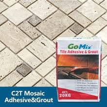 fireproof adhesive for fixing marble mosaic tile