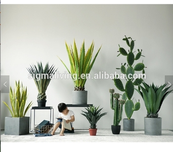 Hot sale New Nordic cactus simulation plant home decoration artificial cactus plants