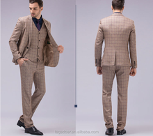 3 pieces pant coat design men wedding suits pictures/polyester material men suits manufacturer