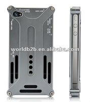 High Quality Transformers Metal Bumper Aluminum Hard Case For iPhone 4S