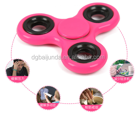 customized logo fidget spinner