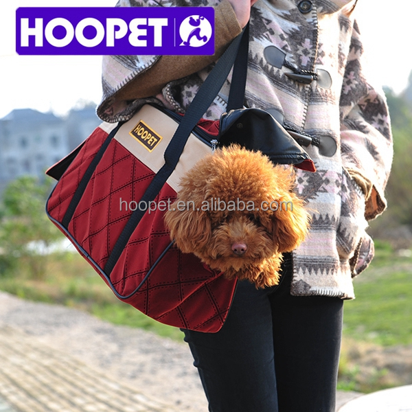 Fashion foldable pet carrier bag portable pet carry bag