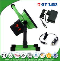 With replaceable battery pack 10W 20w 30W portable led floodlight Li-ion battery rechargeable projectors