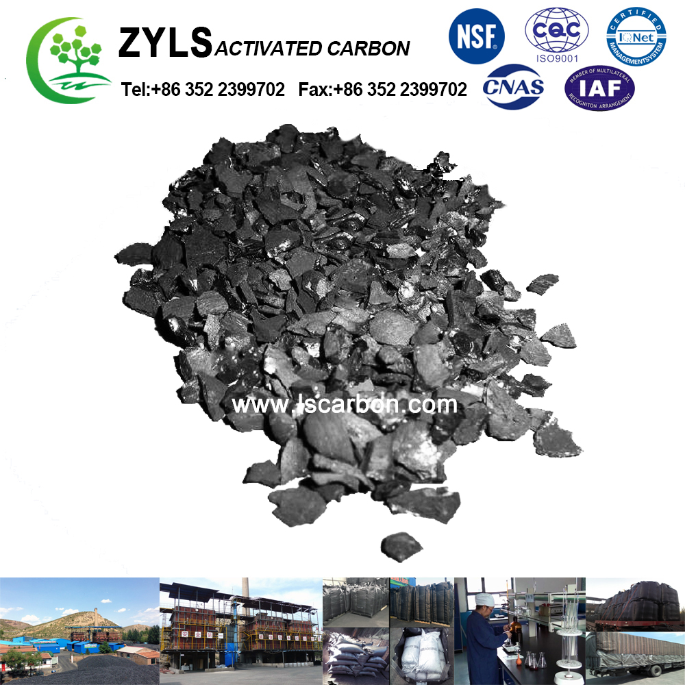 sell product Coconut Shell Based Granular Activated Carbon Price