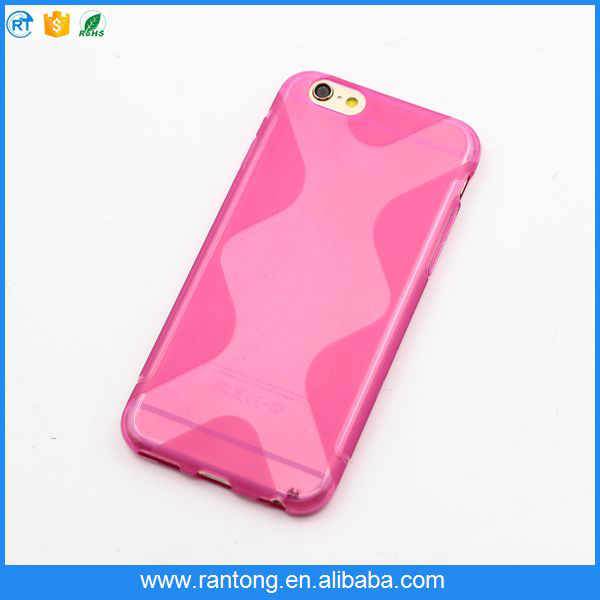 china suppliers wave case tpu for android mobile phone case