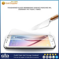 [GGIT] Full screen cover color tempered glass screen protector for Samsung S6 Edge