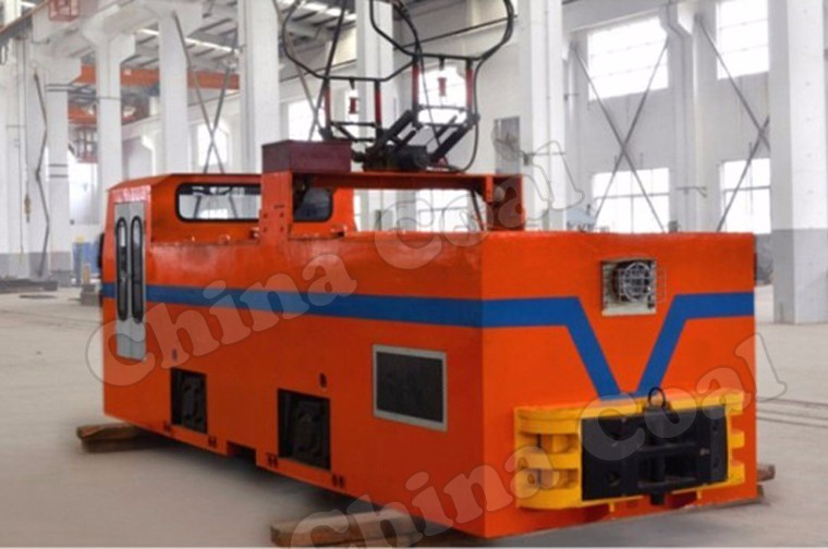 Shandong Chinacoal Group 18 Tonner Underground Mining Electric Locomotives for Sale