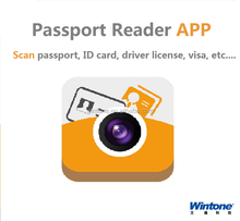 Newest nicaragua driver license scanner app,ID card id-1 size id card reader app