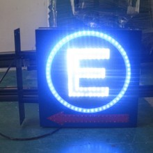 Outdoor double sided LED Parking Sign / Road traffic sign