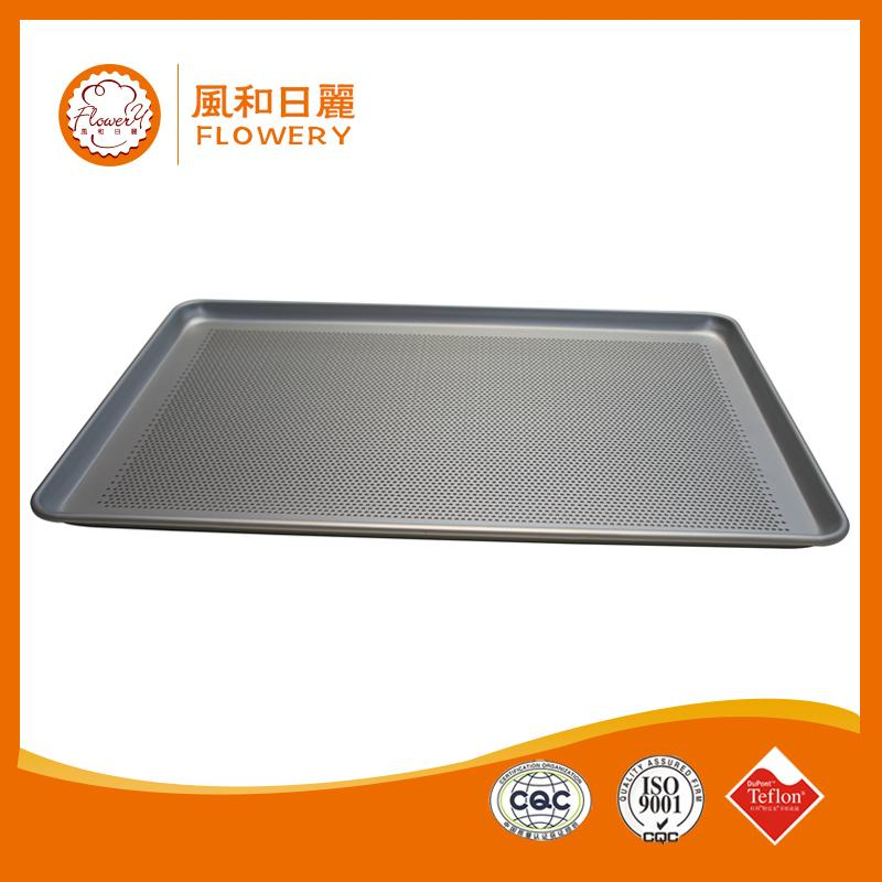 Hot selling perforated aluminum french baguette baking trays with low price