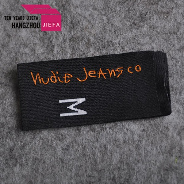 custom made clothing labels jeans size label