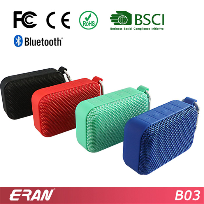 Multi-Function Bluetooth Speaker from BSCI Certificated Factory, Wireless Bluetooth Speaker with FM Radio