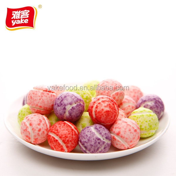 Yake turbo bubble gum with tennis balls shape