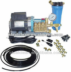 1000PSI high pressure misting cooling system pump machine kits